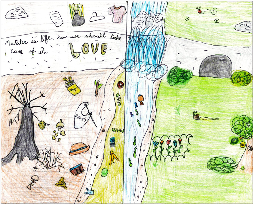 The third place winning poster comes from Angelaiya Nazareno, St. Mary School. Photo: City of Escondido