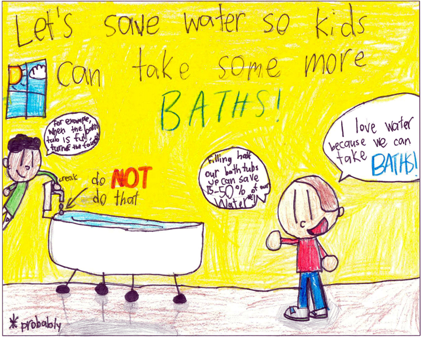 In second place is Filip Kupiec, L.R. Green Elementary. Photo: City of Escondido 2020 Poster