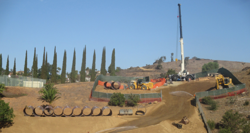 The local chapter of the American Public Works Association honored the Pipeline 5 relining project for the successful collaboration between the Water Authority, contractor, local agencies and nearby communities. Photo: San Diego County Water Authority