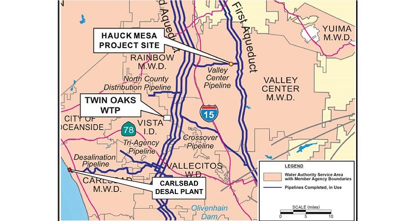 Hauck Mesa-Storage Reservoir-infrastructure