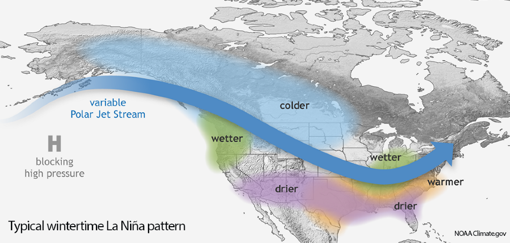 NOAA-La Niña-Water Year 2020te.