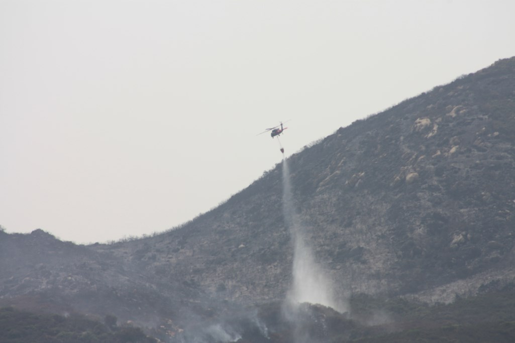 Valley Fire-Water Drop-Sweetwater Authority-Alpine