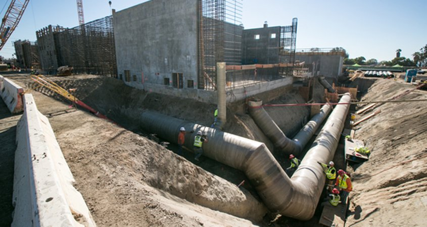 desal plant-construction-5th anniversary-Carlsbad