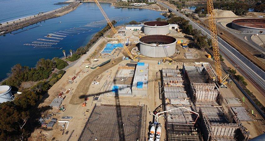 Carlsbad desal plant-construction-5th anniversary