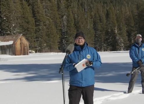 dry start-snowpack survey-water year-Guzman-primary