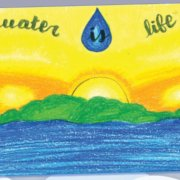 "Lucia Perez Valles is one of six San Diego regional winners whose artwork appears in the 2012 ""Water Is Life"" calendar. Photo: Otay Water District 2021 Calendar"