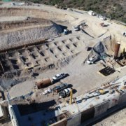 Mission Trails FRS II water project construction