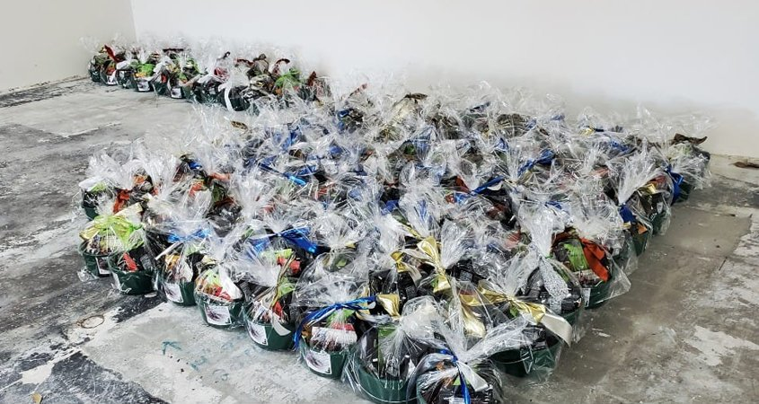 Baskets of Wonderful Pistachios benefit the Water for People program year after year. Photo: Water for People