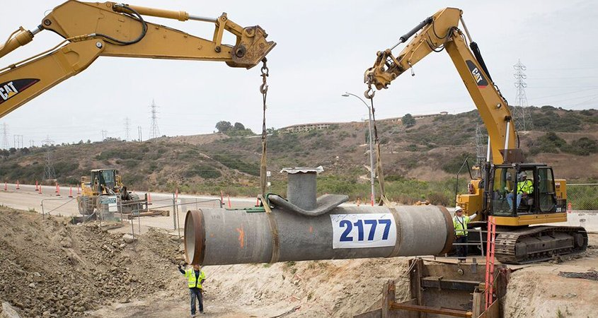 desal plant-final pipe-5th anniversary-desalination