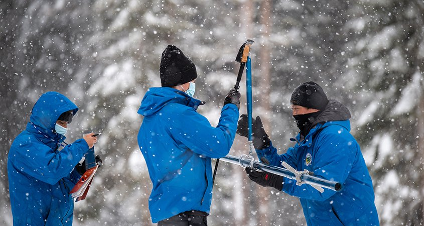 Precipitation-Snowpack Survey-Sierra Nevada-DWR