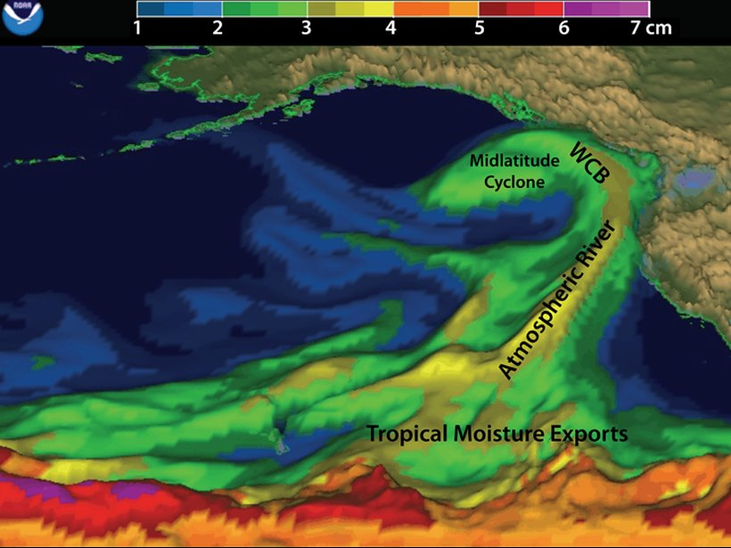 Atmospheric Rivers-CW3E-water supply