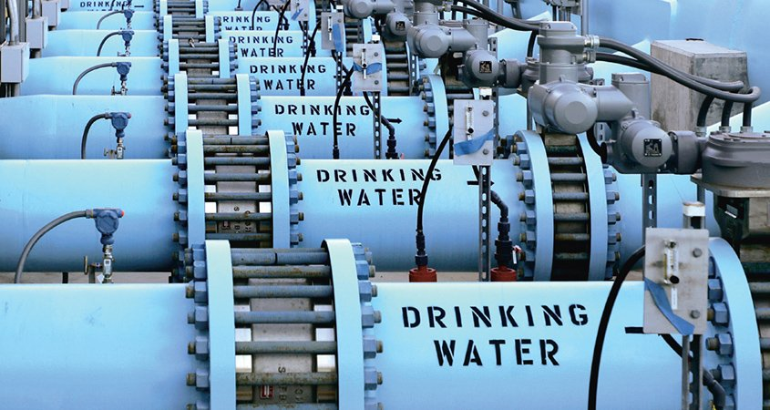 Desalination plant-credit ratings-water supply