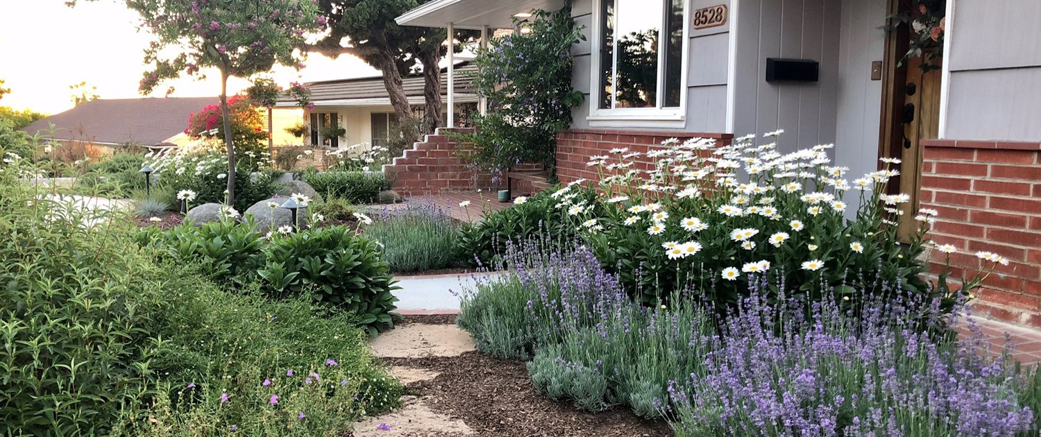 The 2021 Landscape Makeover Contest is open for entries from residents in participating water agencies through May 14, 2021. Photo: Helix Water District