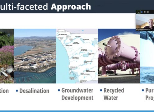Pure Water San Diego is anticipated to provide 50% of the City of San Diego's water supply by 2035. Photo: Courtesy City of San Diego Water Reuse Progress