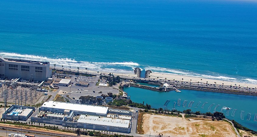 Drought-desalination-water supply portfolio