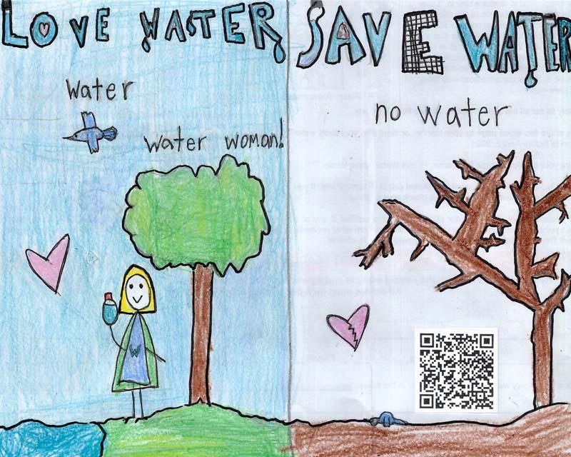 Honorable Mention: Emma Rhett Water Awareness Artwork