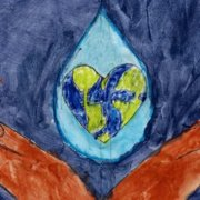 Gracie Chillag of Heritage Charter School placed second in the 2021 Student Poster Contest. Photo: City of Escondido Water awareness Artwork