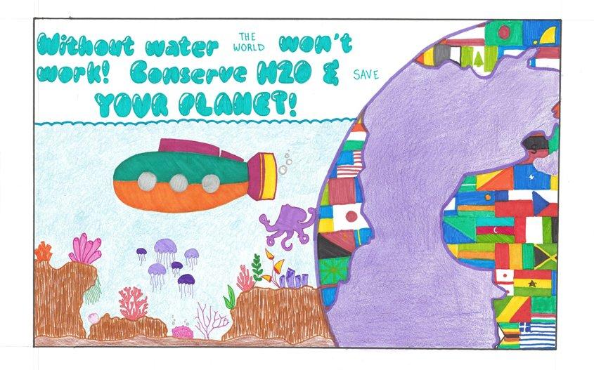 Third Place – Hannah Maass, Christ Lutheran School, La Mesa, Grade 8
