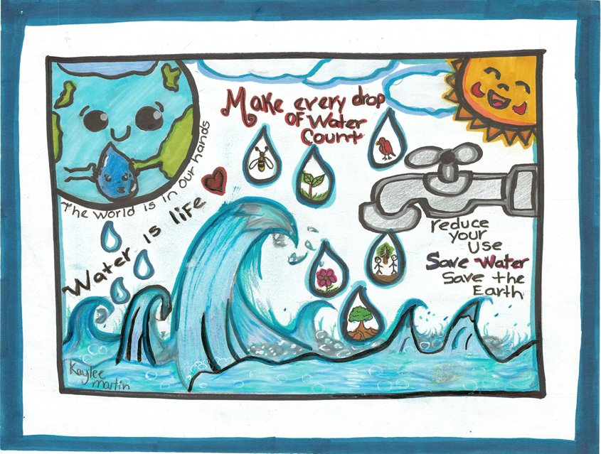 First Place – Kaylee Martin, Highlands Elementary School, Spring Valley, Grade 5 Contest Winners