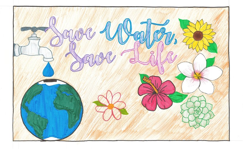 Honorable Mention – Sarah Cervantes, Christ Lutheran School, La Mesa, Grade 8