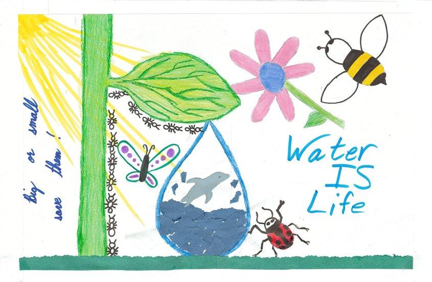 First Place – Sofia Cardenas Loera, Lighthouse Christian Academy, Lemon Grove, Grade 3