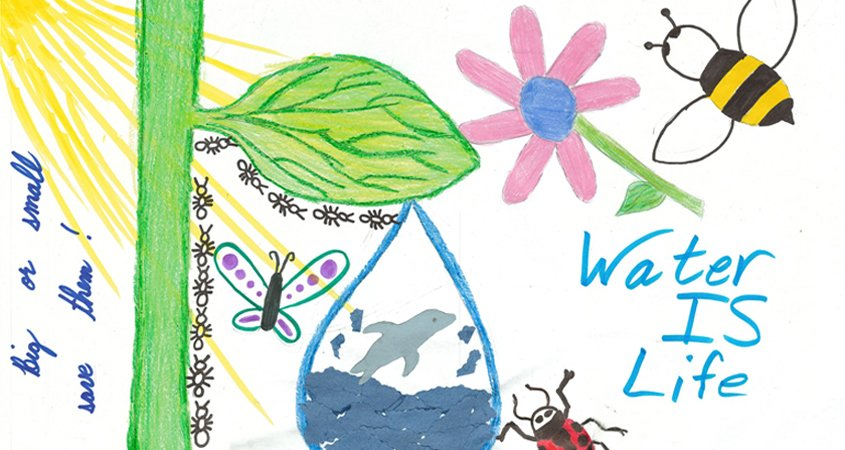 Water Is Life-poster contest-Helix Water District