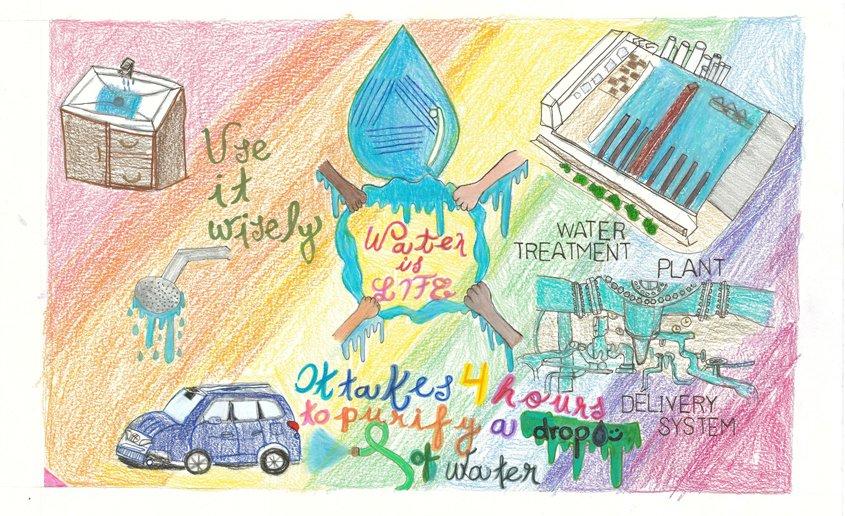 Second Place – Valeria Ramirez, St. John of the Cross, Lemon Grove, Grade 6