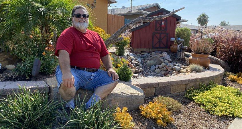 Padre Dam Municipal Water District-Landscape Makeover Winner-WaterSmartSD-drought