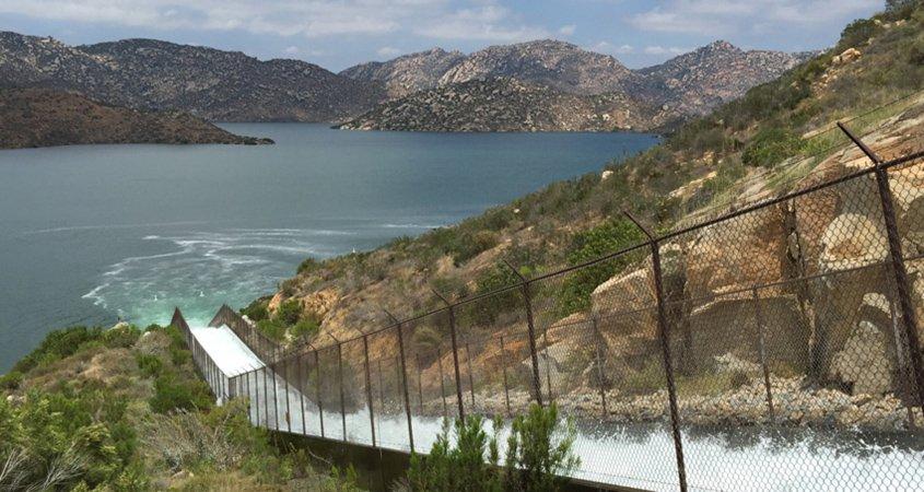 San Vicente Dam-Fill Chute-Energy Storage Project