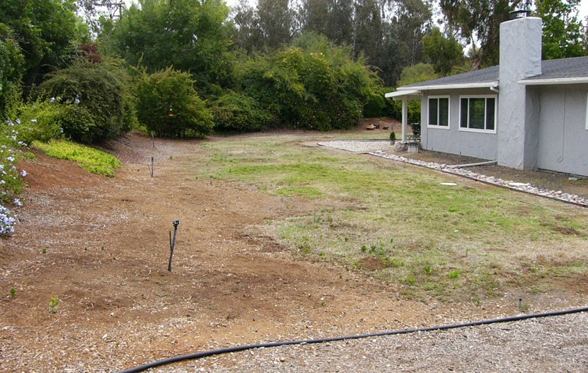 """The """"before"""" look at the Wagemester landscaping. Photo: Vista Irrigation District Vista 2021 Contest"""