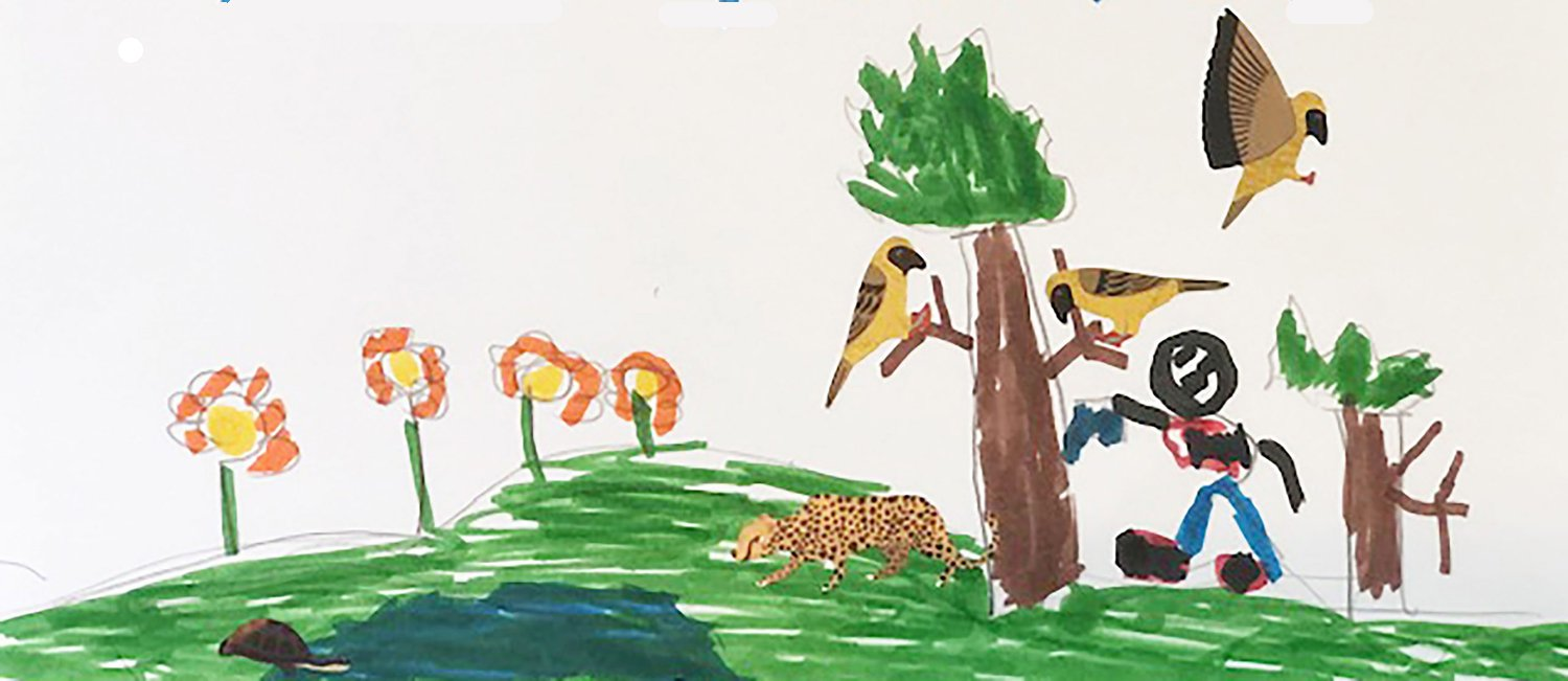 First place: Pablo Flores, first grade, Wolf Canyon Elementary Young artists win Otay