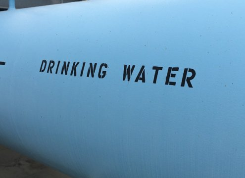 Drinking water-desalination plant-water supply-drought